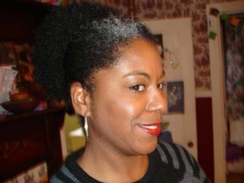 Cute Natural Short Hair for Black Women Over 50