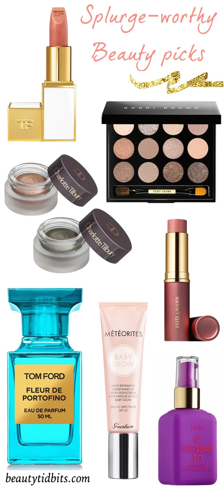 Splurge-worthy beauty products for spring/summer