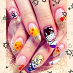 Dragon-Ball-3d-Nail-Art