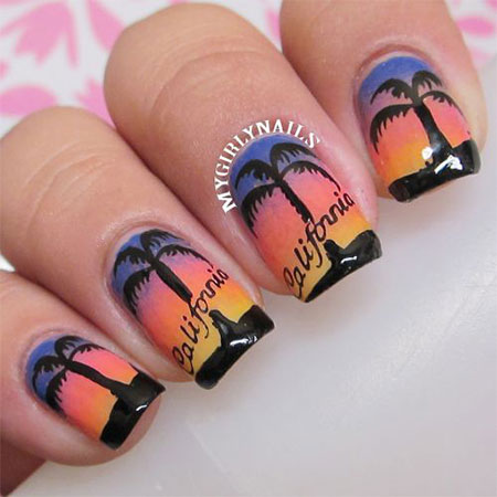 30 Best Cool Summer Nail Art Designs Ideas Trends Stickers 2015 29 30+ Best & Cool Summer Nail Art Designs, Ideas, Trends & Stickers 2015