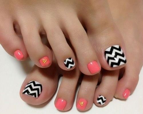 18 Summer Time Toe Nail Art Types Suggestions Trends Stickers