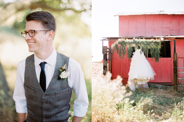 countryside wedding with cobalt blue and crimson - photo by Sposto Photography http://ruffledblog.com/countryside-wedding-with-cobalt-blue-and-crimson
