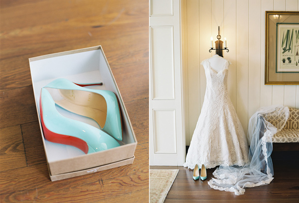 wedding shoes - photo by Virgil Bunao http://ruffledblog.com/charleston-wedding-with-loads-of-bright-colors