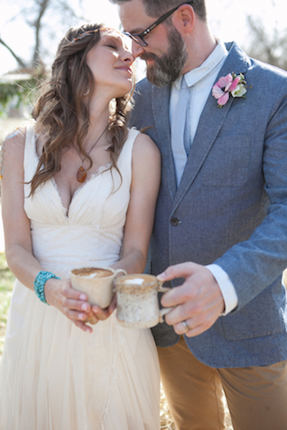Coffee with hearts | Cornerstone Photography| see more on: http://burnettsboards.com/2015/06/geodes-feathers-airstream/