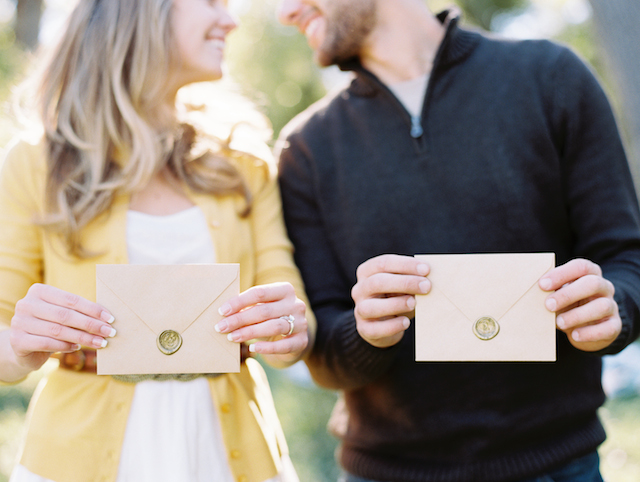 Sealed love letters | Cassidy Brooke Photography | see more on: http://burnettsboards.com/2015/06/afternoon-adventure/