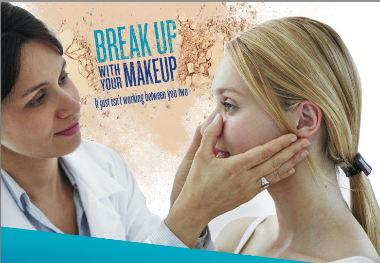 Break up with your makeup