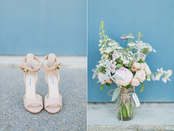 wedding shoes - photo by Courtney Horwood Photography http://ruffledblog.com/modern-barn-wedding-in-new-zealand