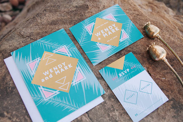 Bohemian wedding invitations - customizable wedding invites from https://www.basicinvite.com/wedding/wedding-invitations.html