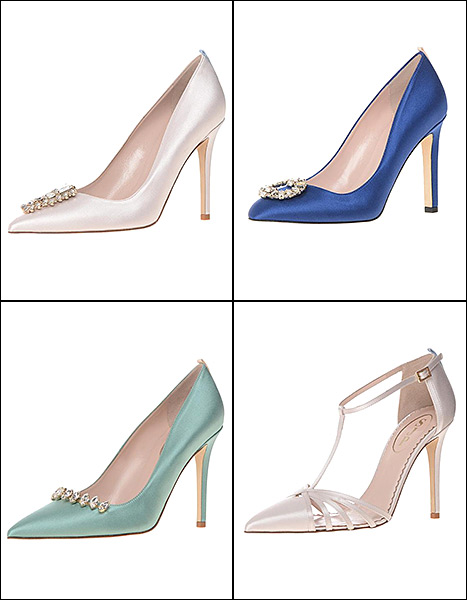 4 of our favorite shoes from Sarah Jessica Parker's SJP collection bridal capsule.