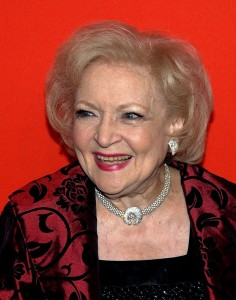 Betty White 2015 Short Hairstyles white Hair Color