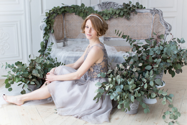 Lavender and eucalyptus wedding ideas | Elisaveta Sudarikova | see more on: http://burnettsboards.com/2015/06/lavender-bride/