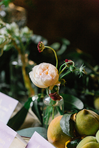 Bud vase | Elyse Alexandria Photography | see more on: http://burnettsboards.com/2015/06/wedding-redo/
