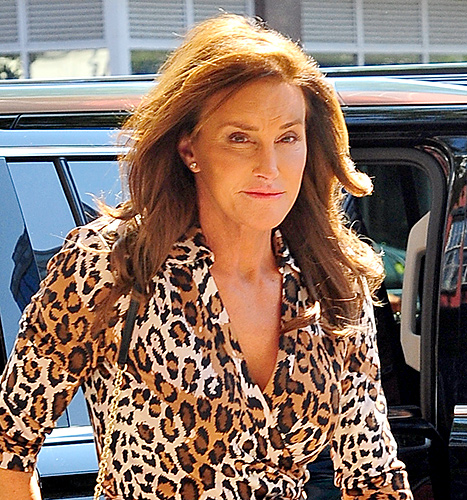 Caitlyn Jenner arrives at Patrica Field store in Soho on June 30, 2015 in New York City.