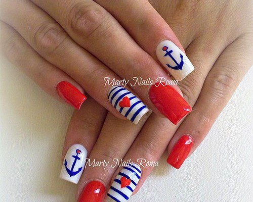 15 Fourth Of July Acrylic Nail Art Designs Ideas Trends Stickers