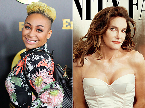 Raven-Symone tells Us Weekly's Loose Talk that she loves Caitlyn Jenner's style.