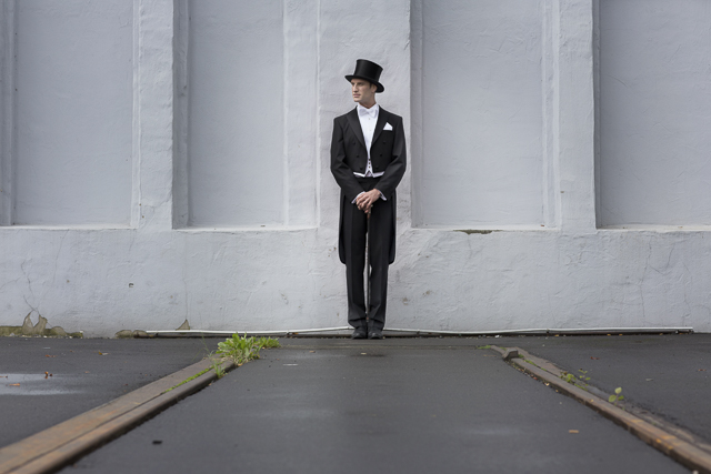 Vintage groom's attire | Tausendschon Photographie | see more on: http://burnettsboards.com/2015/05/1930s-wedding-vintage-train/