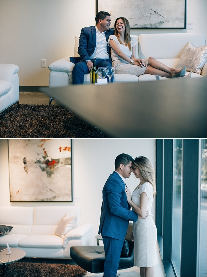 Contemporary Engagement Shoot by Civic Photos