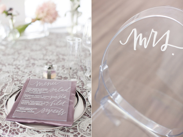 modern silver and purple wedding editorial - photo by Amy and Jordan Photography http://ruffledblog.com/modern-silver-and-purple-wedding-editorial