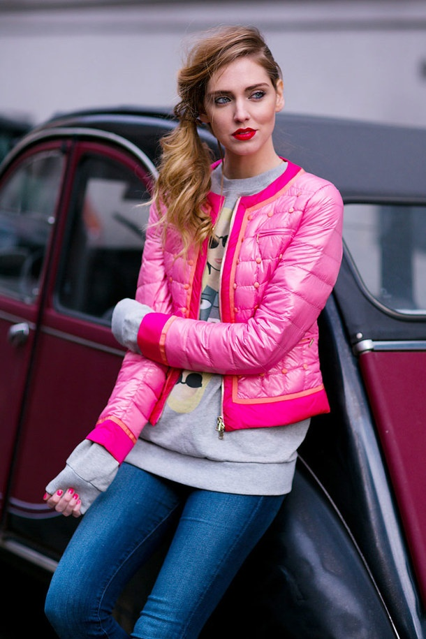 outfit with puffer coat