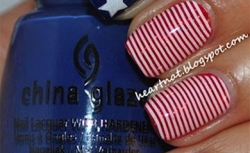 12+ American Flag Nail Art Designs, Ideas, Trends & Stickers 2015 | 4th Of July Nails