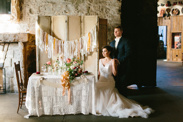 Vintage wedding reception | Elyse Alexandria Photography | see more on: http://burnettsboards.com/2015/06/wedding-redo/
