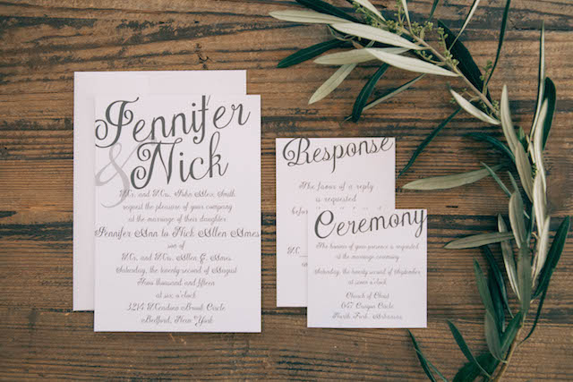 Natural and chic wedding invitations - customizable wedding invites from https://www.basicinvite.com/wedding/wedding-invitations.html