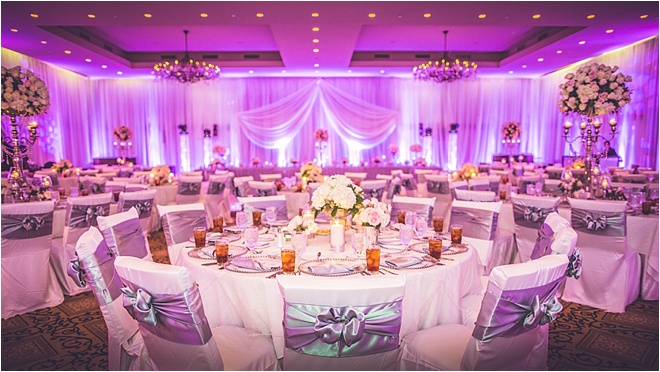 Pink And Silver Wedding Reception Gallery Decoration Ideas