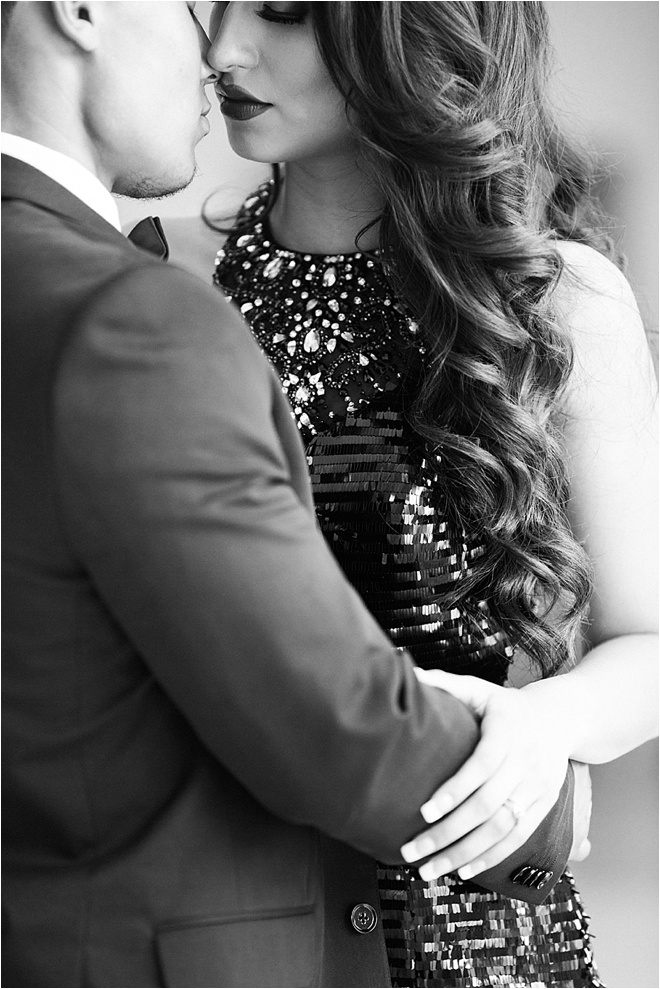 Glam Engagement Shoot at Chateau Cocomar by Civic Photos