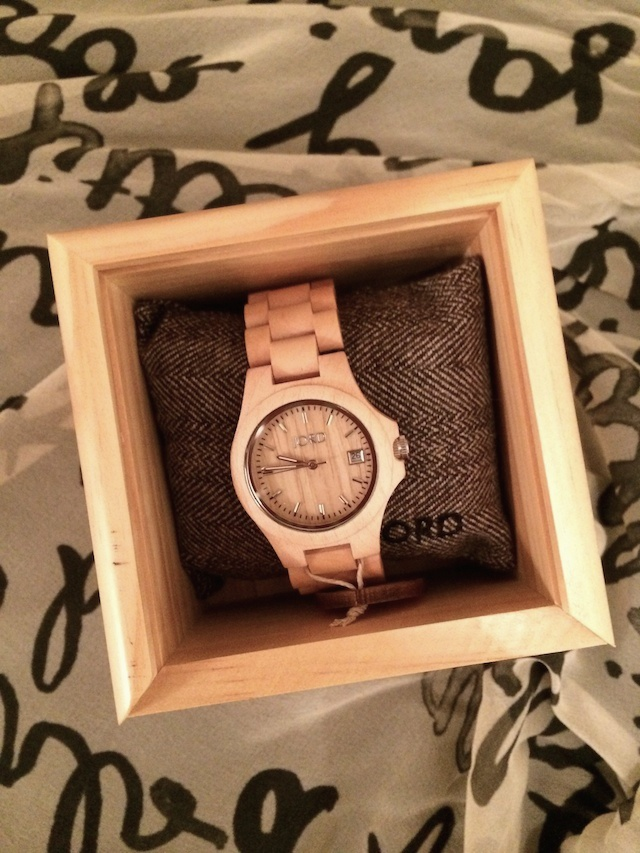 Jord wood watch - useful bridesmaids gifts