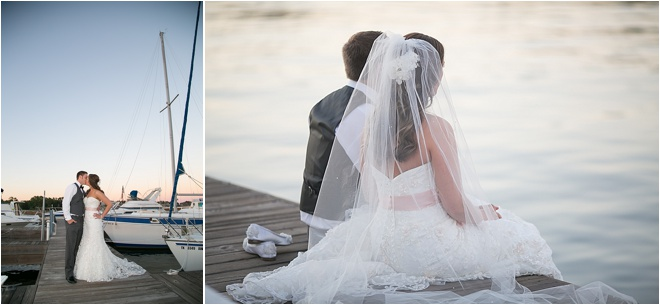 Blush, White & Silver Wedding at Waterpoint Premier Lakeside Venue