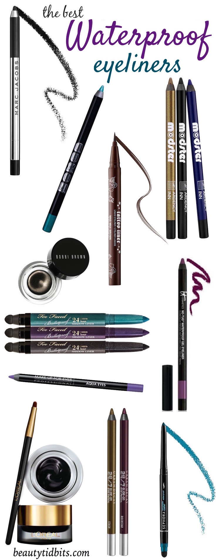 Best Waterproof Eyeliners