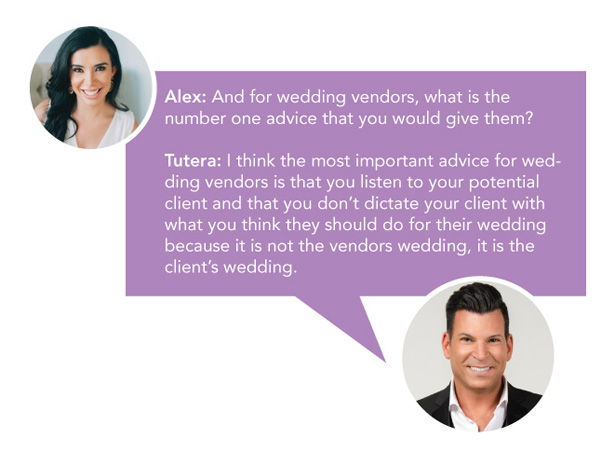 Interview with David Tutera - Part 2