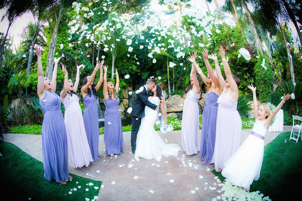 Lilac and Lavender Wedding