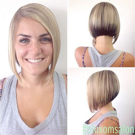 Stacked, Medium Bob Hairstyles