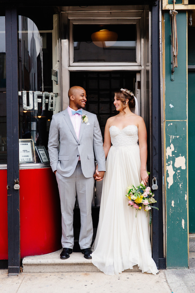 Coney Island wedding | The Melideos + Kerry Ann Stokes | see more on: http://burnettsboards.com/2015/06/vintage-coney-island-wedding/
