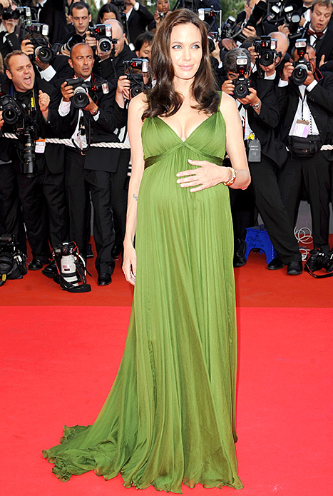 Angelina Jolie arrive at the Kung Fu Panda Premiere at Palais des Festivals during the 61st International Cannes Film Festival on May 15 , 2008 in Cannes, France.