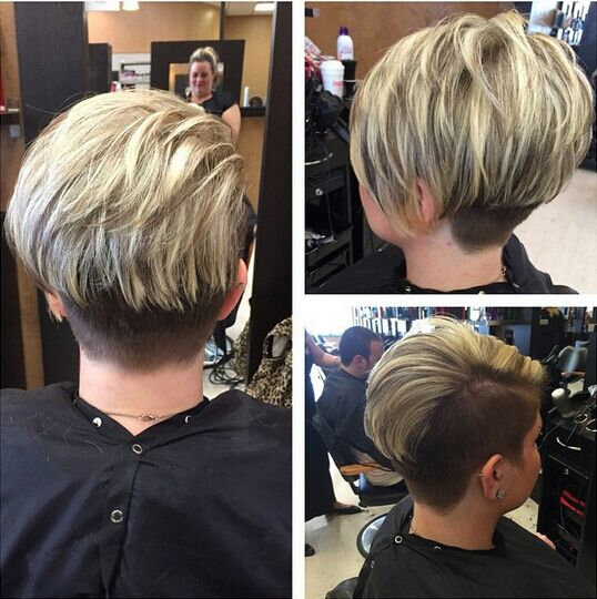 Amazing Layered Short Haircut