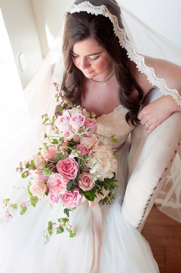 English Inspired Bridal Look ~ Jill Lauren Photography