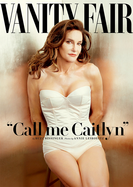 Caitlyn Jenner (formerly Bruce) on the cover of Vanity Fair's July issue.