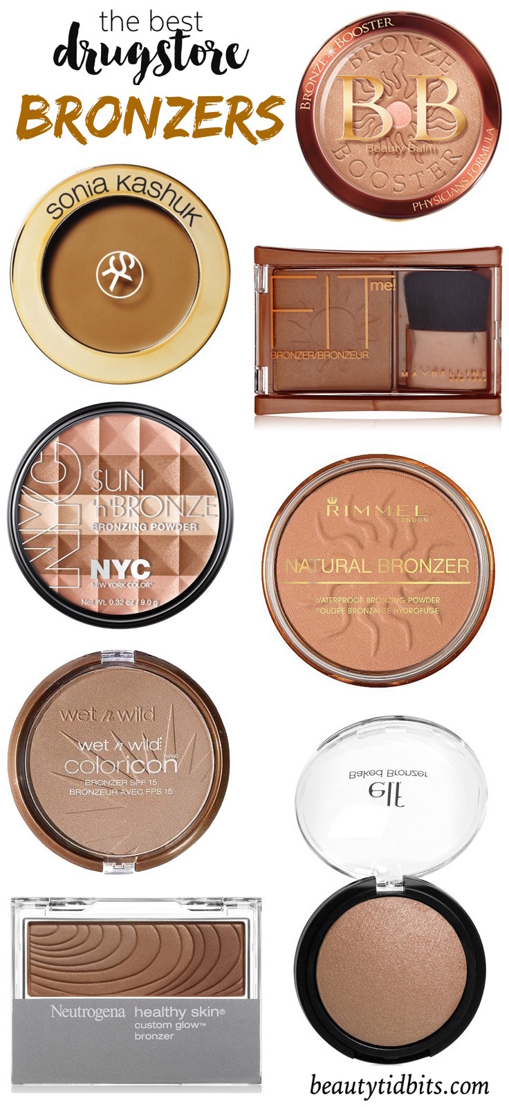 Best Drugstore Bronzers under $  10