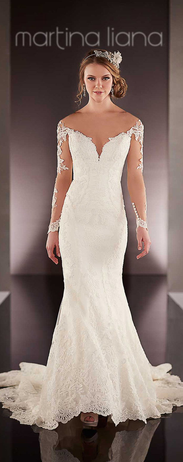 mMartina Liana Spring 2016 Wedding Dress