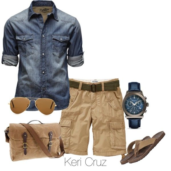 Stylish Outfits with Shorts for Men (5)