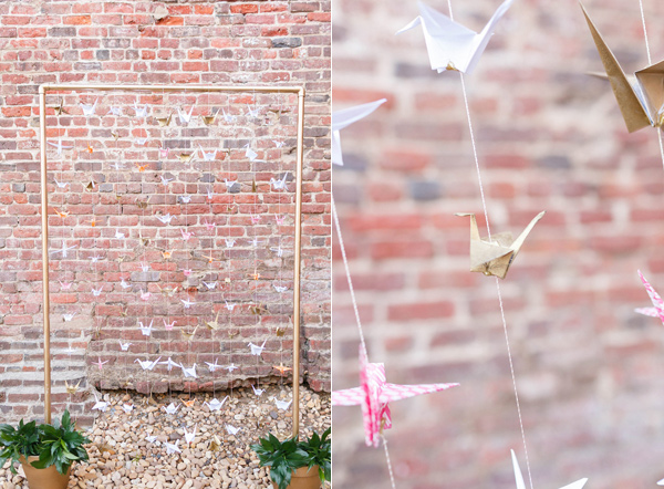 backdrop ideas - photo by VA Photography http://ruffledblog.com/handcrafted-real-vow-renewal
