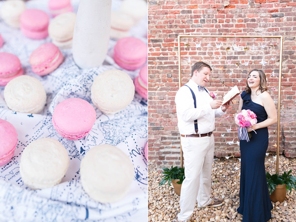 handcrafted real vow renewal - photo by VA Photography http://ruffledblog.com/handcrafted-real-vow-renewal