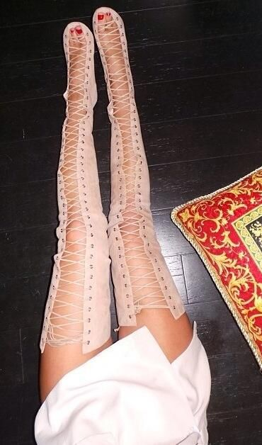 outfits with gladiator heels