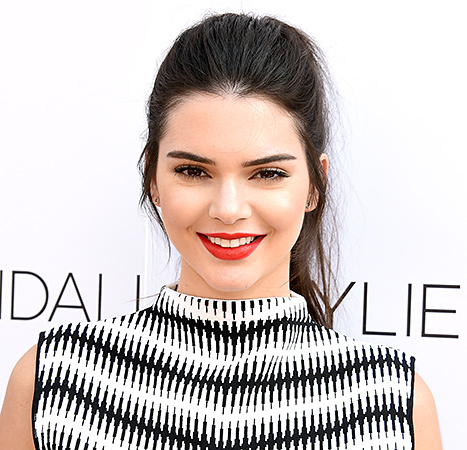 Kendall Jenner arrives at the New Kendall + Kylie Fashion Line Laucnh Party At TopShop at TopShop on June 3, 2015 in Los Angeles, California.