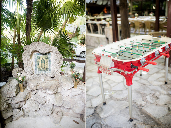 Tulum destination wedding - photo by Cynthia Rose Photography http://ruffledblog.com/relaxed-destination-wedding-in-tulum