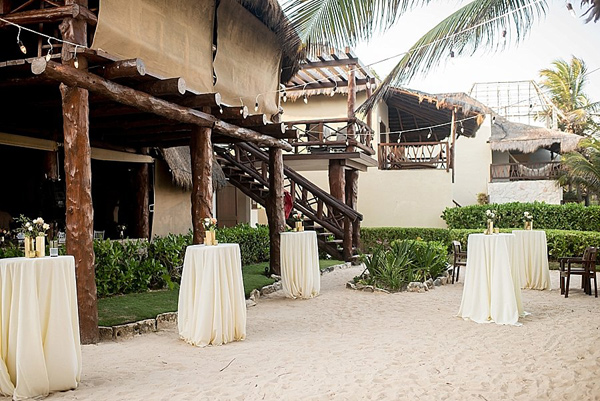 relaxed destination wedding in Tulum - photo by Cynthia Rose Photography http://ruffledblog.com/relaxed-destination-wedding-in-tulum