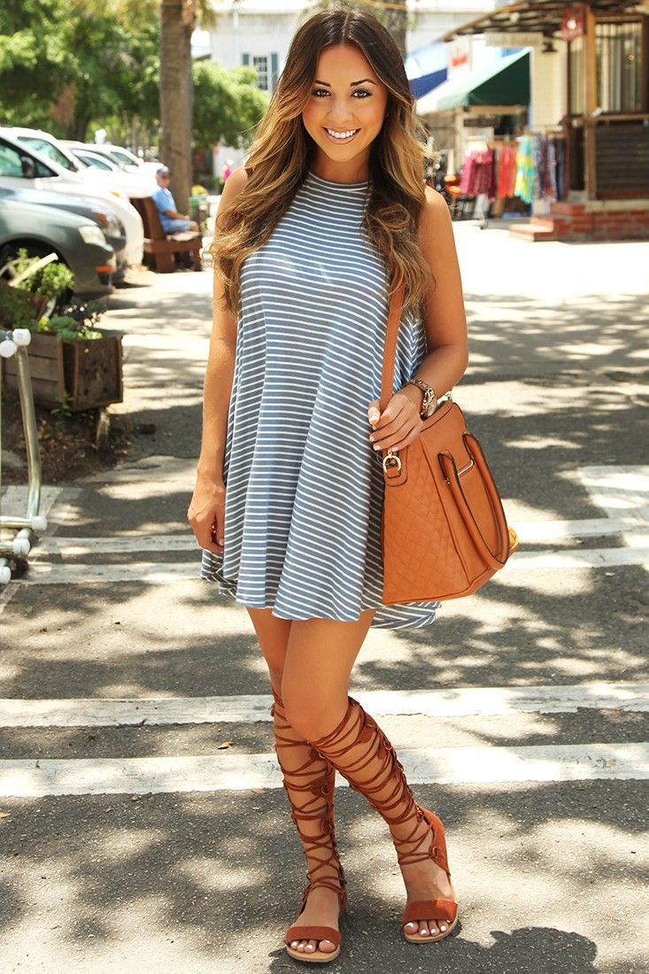 outfits with gladiator heels 2