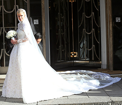 Nicky Hilton leaves Claridges ahead of her wedding on July 10, 2015 in London, England.